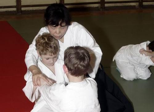 Тренировки для детей с японскими учителями 2006 год