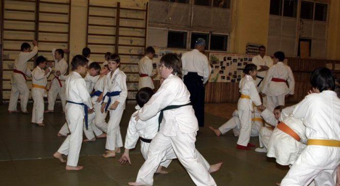 Тренировки для детей с японскими учителями 2008 год. Часть 2.