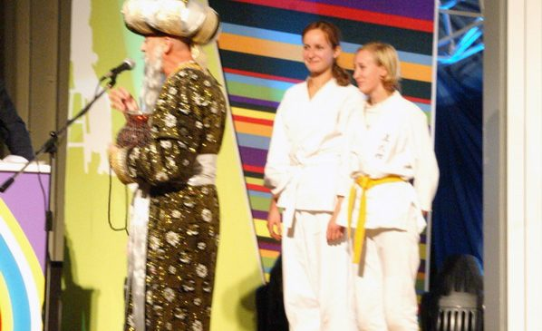 Показательные выступления в СПб ГУ 2006 год