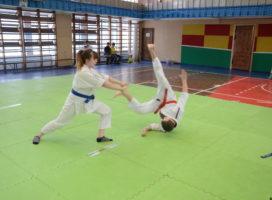 Выступление детей на городских соревнованиях
