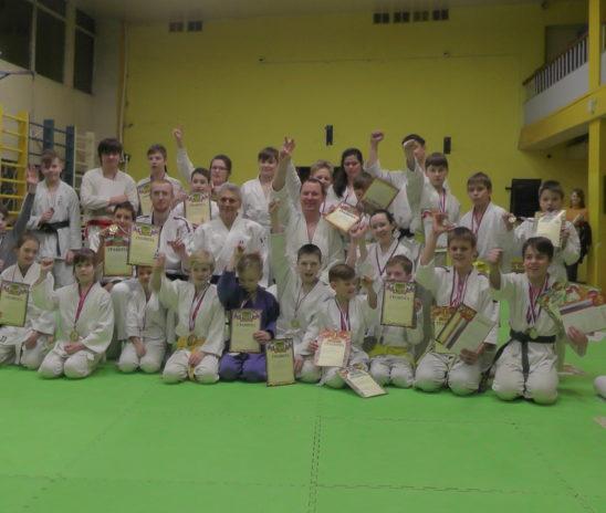 Открытое первенство клуба «Шимбукан» по борьбе сумо и силовому двоеборью среди детей старше 8 лет